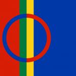 Samisk flagg i farger